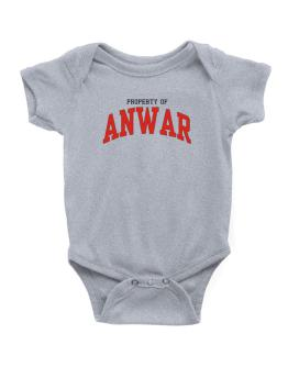 Property Of Anwar Baby Bodysuit