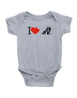 I love Beagles Baby Bodysuit
