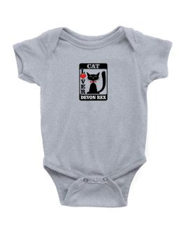Cat Lover - Devon Rex Baby Bodysuit