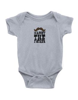 Massey, The Father Baby Bodysuit