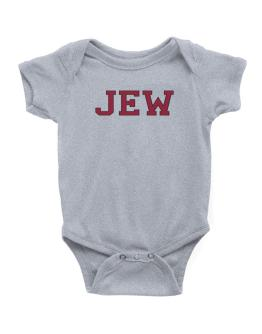 Jew - Simple Athletic Baby Bodysuit