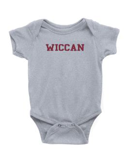 Wiccan - Simple Athletic Baby Bodysuit