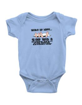 wake up happy .. sleep with a Parking Patrol Officer Baby Bodysuit