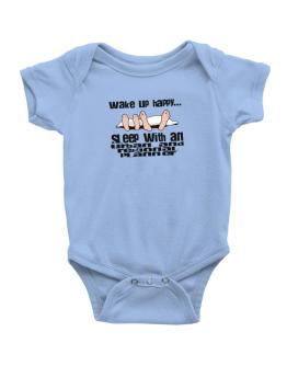 wake up happy .. sleep with a Urban And Regional Planner Baby Bodysuit