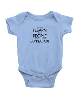The more I learn about people the more I love my Connecticut Baby Bodysuit