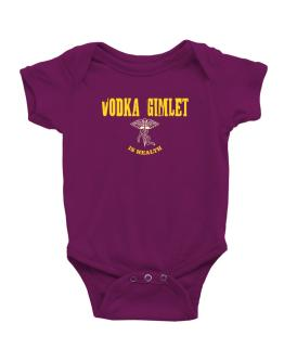 Vodka Gimlet Is Health Baby Bodysuit