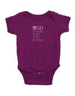 Massey the original the only the best the almighty 2 Baby Bodysuit