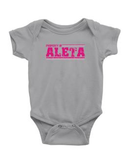 Property Of Aleta - Vintage Baby Bodysuit