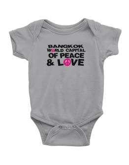 Bangkok World Capital Of Peace And Love Baby Bodysuit