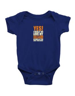 Yes! I Really Do Love My Shetland Sheepdog Baby Bodysuit