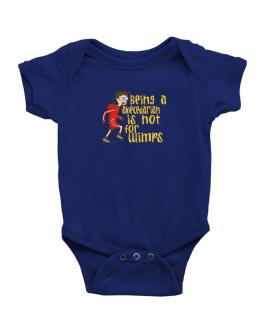Being An Abecedarian Is Not For Wimps Baby Bodysuit