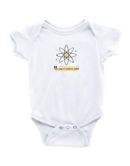If Pickleball Were Easy, It Would Be Called Quantum Mechanics Baby Bodysuit