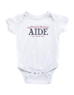 Proud To Be An Aide Baby Bodysuit