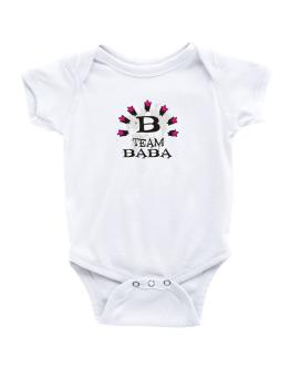 Team Baba - Initial Baby Bodysuit