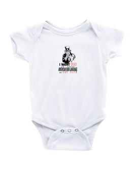 I Want You To Speak American Sign Language Or Get Out! Baby Bodysuit
