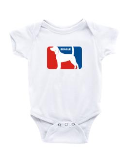 Beagle Sports Logo Baby Bodysuit
