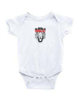 No Crying Footbag Net Baby Bodysuit
