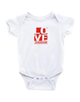 Love Judaism Baby Bodysuit