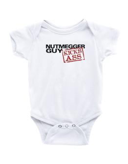 Nutmegger Guy Kicks Ass Baby Bodysuit
