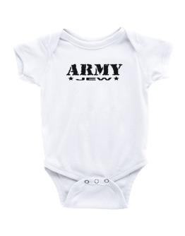 Army Jew Baby Bodysuit