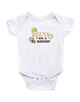 Relax, I Am A Hy Member Baby Bodysuit