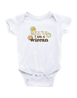 Relax, I Am A Wiccan Baby Bodysuit
