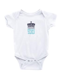Proud To Be A Jew Baby Bodysuit