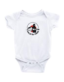 Ancient Semitic Religions Interested By Day, Ninja By Night Baby Bodysuit