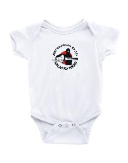 Abecedarian By Day, Ninja By Night Baby Bodysuit
