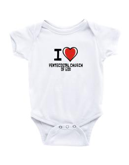 I Love Pentecostal Church Of God Baby Bodysuit