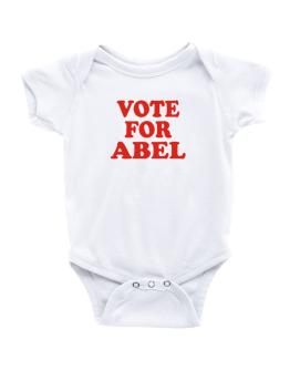Vote For Abel Baby Bodysuit