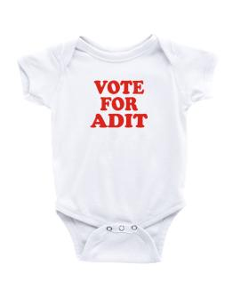 Vote For Adit Baby Bodysuit