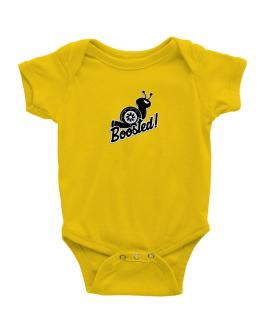 Boosted turbo snail Baby Bodysuit