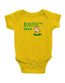 Parking Patrol Officer chick Baby Bodysuit