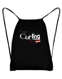 Curling Is In My Blood Sport Bag