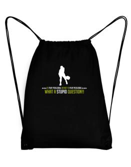 To play Pickleball or not to play Pickleball, what a stupid question!! Sport Bag