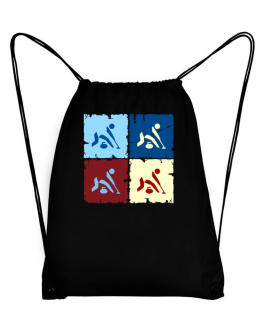 Curling - Pop Art Sport Bag