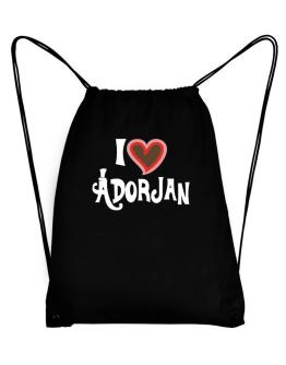 I Love Adorjan Sport Bag