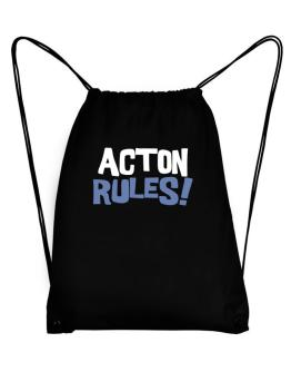 Acton Rules! Sport Bag