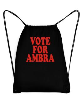 Vote For Ambra Sport Bag