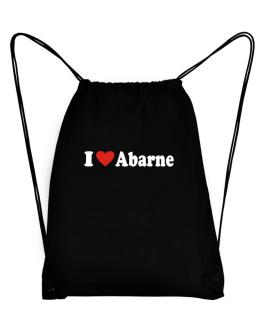 I Love Abarne Sport Bag