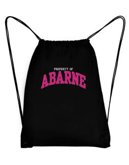 Property Of Abarne Sport Bag