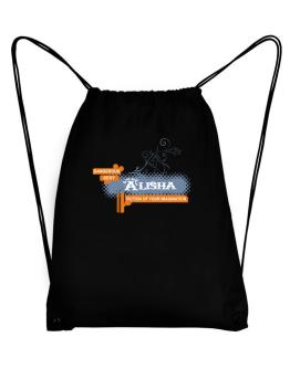 Alisha - Fiction Of Your Imagination Sport Bag