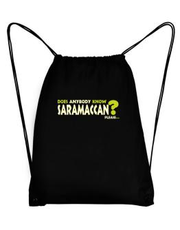 Does Anybody Know Saramaccan? Please... Sport Bag