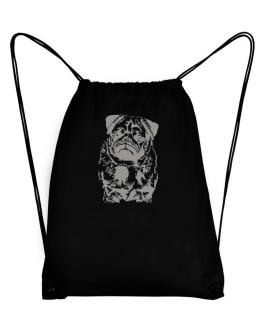 Pug Face Special Graphic Sport Bag