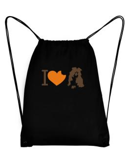 I love Australian Shepherds Sport Bag