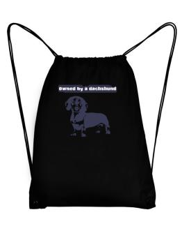 Owned By A Dachshund Sport Bag