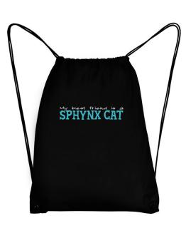 My Best Friend Is A Sphynx Sport Bag