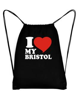 I Love My Bristol Sport Bag