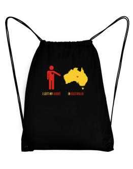 I Left My Heart In Australia - Map Sport Bag